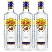 Gin Gordons 750ml 03 Unidades