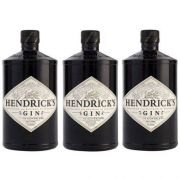 Gin Hendricks 750ml 03 Unidades