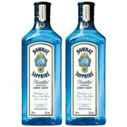 Kit 2 Gin Importado Bombay Sapphire 750ml
