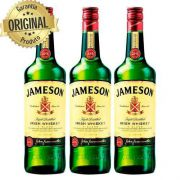 Kit 3 Whisky Importado Irlandes Jameson 750ml