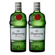 Kit Com 2 Gin Tanqueray Dry De 750 Ml Cada