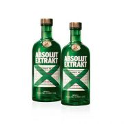 Kit Composto Por: 2 Vodka Absolut Extrakt Sueca - 750Ml