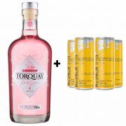 Kit Gin Torquay Pink 750ml + Red Bull Tropical 250ml