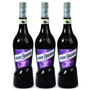 Licor Marie Brizard Cassis 700ml 03 Unidades
