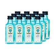 Mini Gin Bombay Sapphire 50ml Kit 12 Unidades Miniatura Mini Garrafa