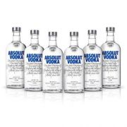 Vodka Absolut Original 750ml 06 Unidades