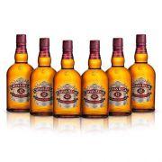 Whisky Chivas Regal 12 Anos 6 UND - 1L