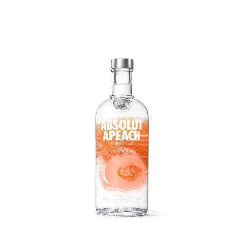 Absolut Vodka Apeach Sueca - 750ml  - DQ Comércio