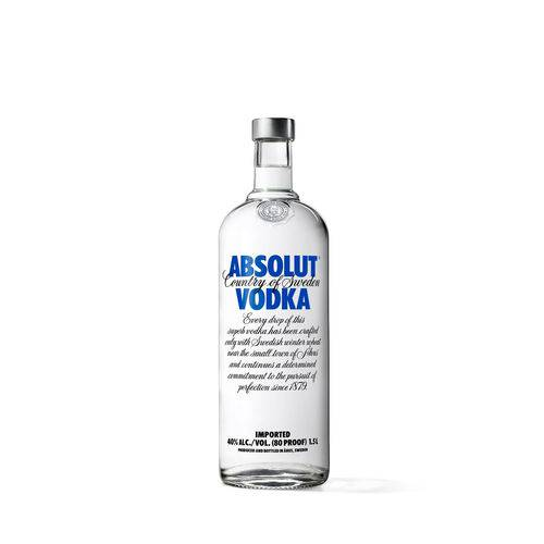 Absolut Vodka Original Sueca - 1,5l  - Deliciando Quitanda