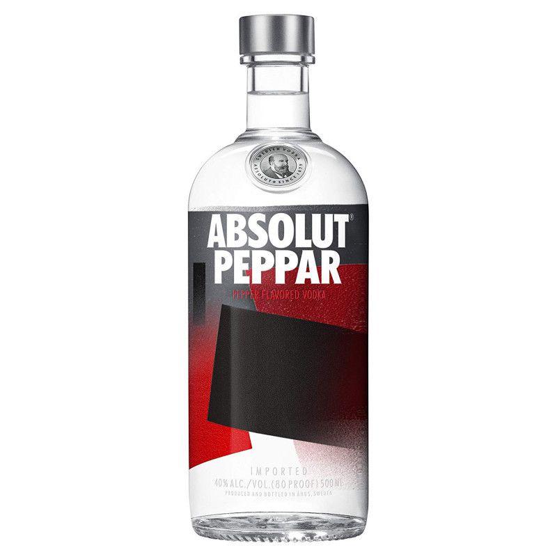 Absolut Vodka Peppar Sueca - 750ml  - DQ Comércio