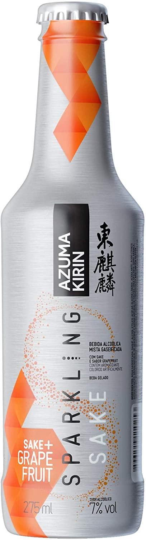 Azuma Kirin Sparkling Grapefruit - 275 Ml - c/6 unidades  - DQ Comércio