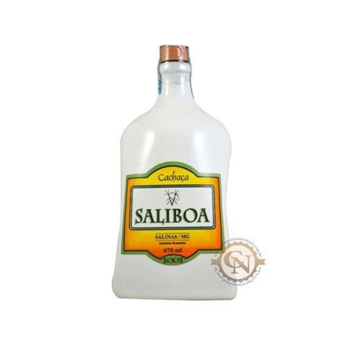 Cachaça Saliboa Porcelana 670ML  - DQ Comércio