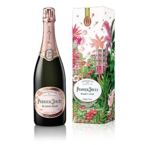 Champagne Perrier Jouët Blason Rosè Miami Gift Box 750ml  - DQ Comércio