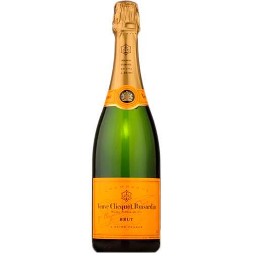 Champagne Veuve Clicquot Brut 750 ml  - Deliciando Quitanda