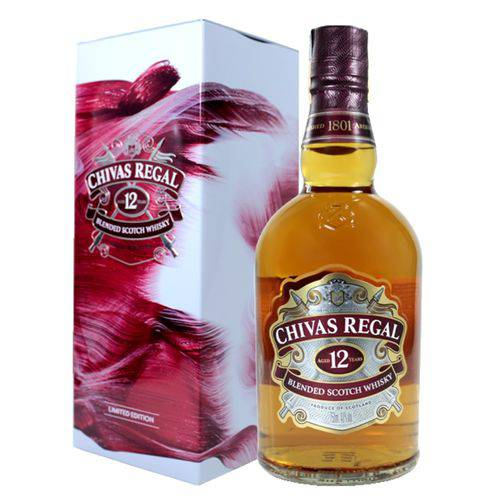 Chivas Regal Whisky 12 Anos Escocês Com Lata - 750ml  - Deliciando Quitanda