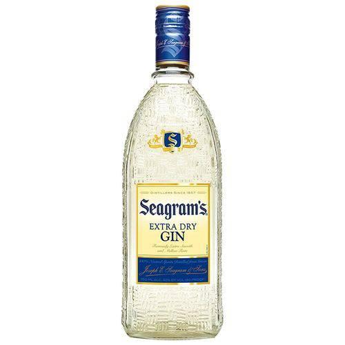 Gin Importado Garrafa 750ml - Seagrams  - Deliciando Quitanda