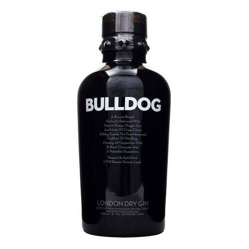 Gin Premium Bulldog London Dry 750ml  - Deliciando Quitanda