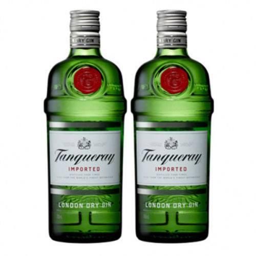 Kit Com 2 Gin Tanqueray Dry De 750 Ml Cada  - DQ Comércio