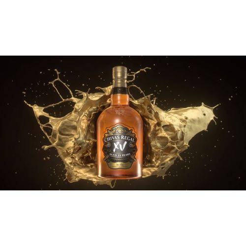 Kit com 3 Whisky Chivas Regal XV 15 anos  - Deliciando Quitanda