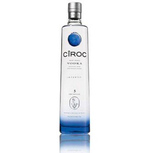 Kit Vodka Ciroc 4 unidades 750ml variadas  - Deliciando Quitanda