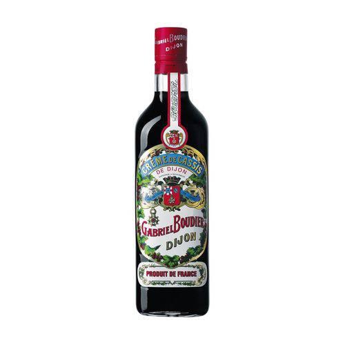 Licor Gabriel Boudier Creme De Cassis Dijon 700 Ml  - DQ Comércio