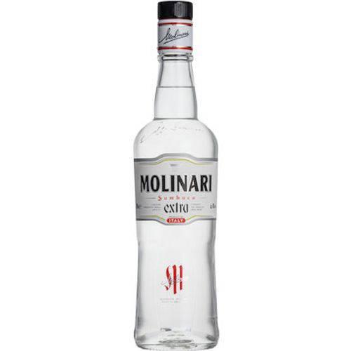 Licor Sambuca Molinari Extra 750ml  - DQ Comércio