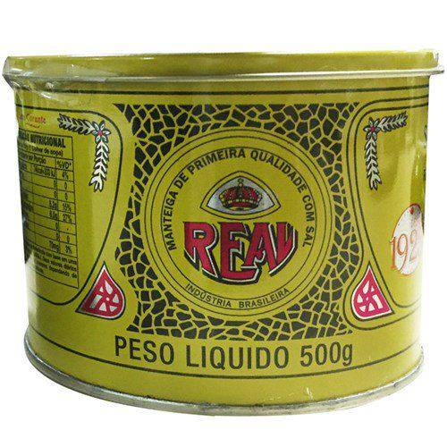 Manteiga Real 500 Gramas 6 unidades  - Deliciando Quitanda