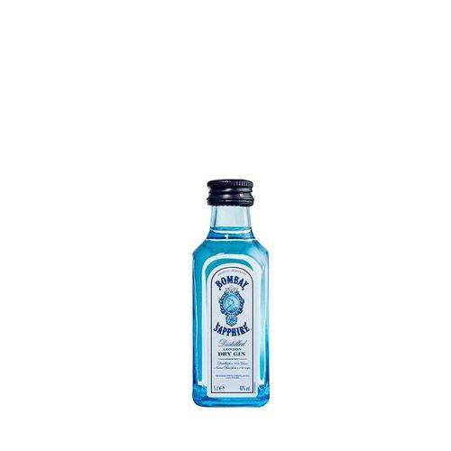 Mini Gin Bombay Sapphire 50ml Miniatura Mini Garrafa  - DQ Comércio