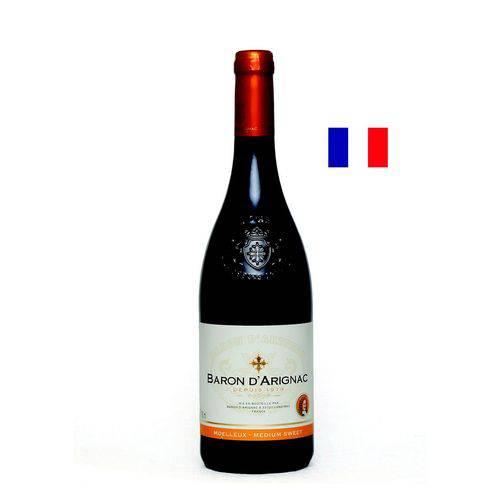 Vinho Baron Darignac Moelleux - Suave  - Deliciando Quitanda