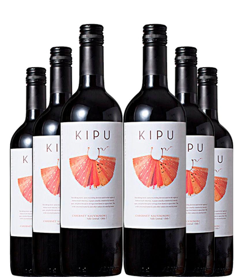 Vinho Tinto KIPU Cabernet Sauvignon 750ml (6 unidades)  - DQ Comércio