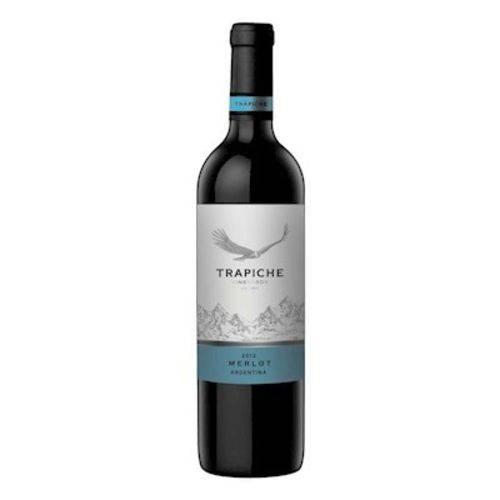 vinho trapiche merlot 750ml  - Deliciando Quitanda