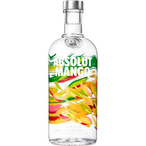 Vodka Absolut Mango - 750ml  - DQ Comércio
