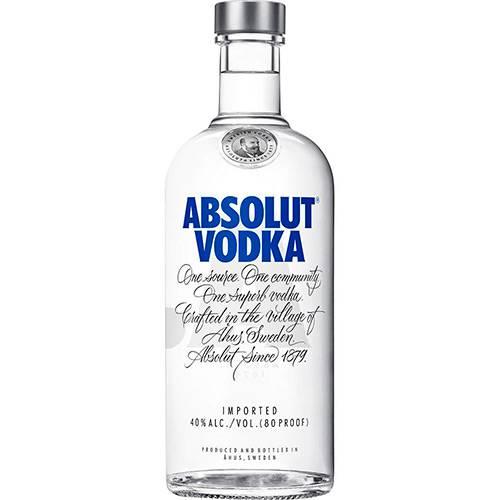 Vodka Absolut Original - 750ml  - DQ Comércio