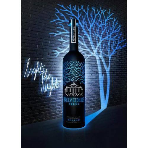 VODKA BELVEDERE BLACK LED 1,75L  - Deliciando Quitanda