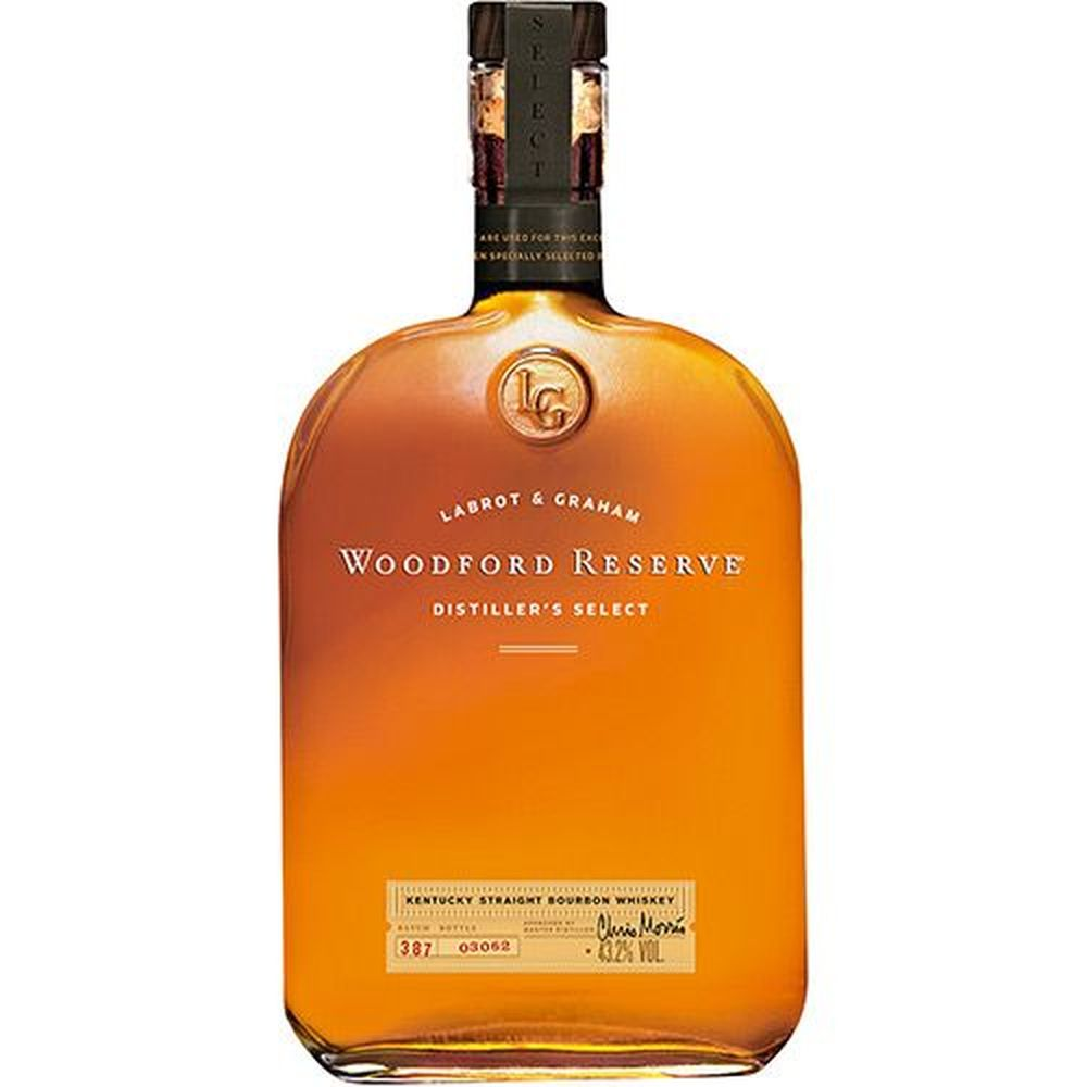 Whisky Bourbon Woodford Reserve 750ml  - DQ Comércio