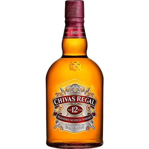 Whisky Chivas Regal 12 Anos - 750ml  - DQ Comércio