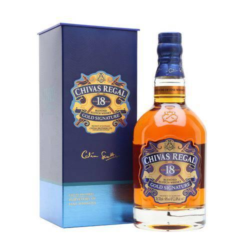 Whisky Chivas Regal 18 Anos 750 Ml  - Deliciando Quitanda