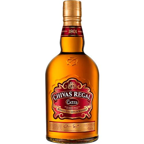 Whisky Chivas Regal Extra - 750ml  - Deliciando Quitanda