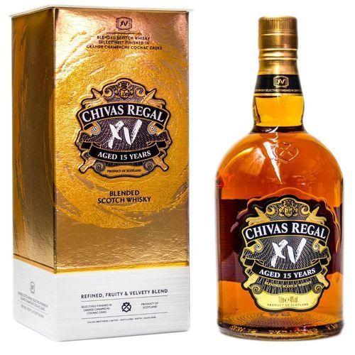 Whisky escocês Chivas XV Anos 750 ml  - DQ Comércio