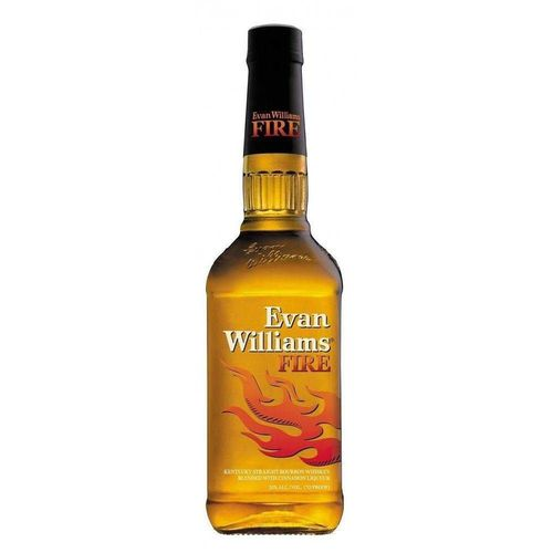 Whisky Evan Williams Bourbon Fire Cinnamon 750 Ml  - DQ Comércio