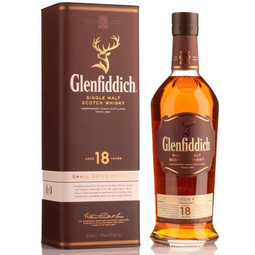 Whisky Glenfiddich 18 Anos Single Malte 750ml  - DQ Comércio