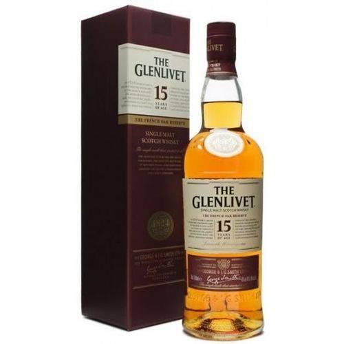Whisky Glenlivet Single Malt 15 Anos 750ml  - DQ Comércio
