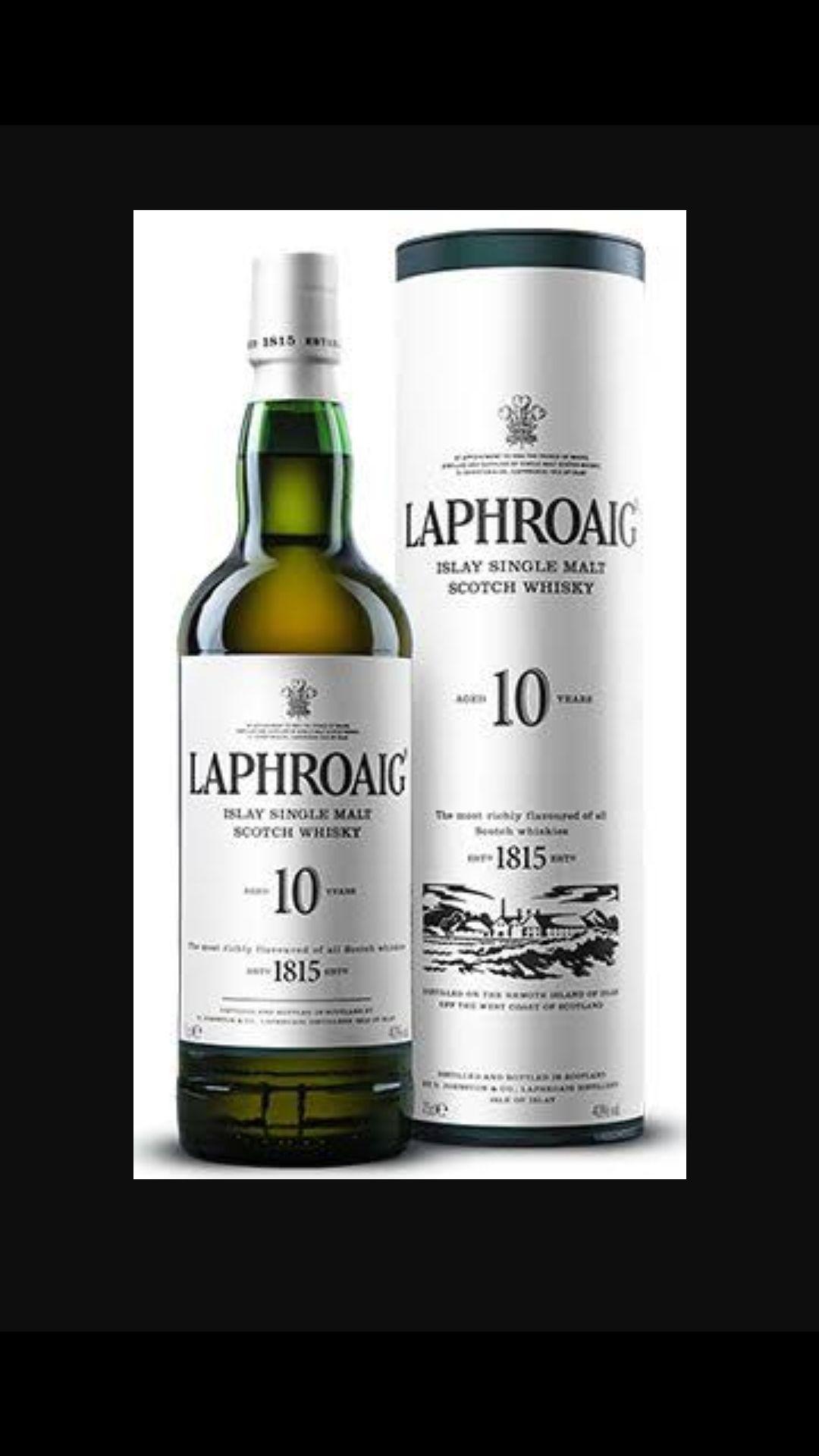 Whisky Laphroaig 10 Anos 750 Ml  - DQ Comércio