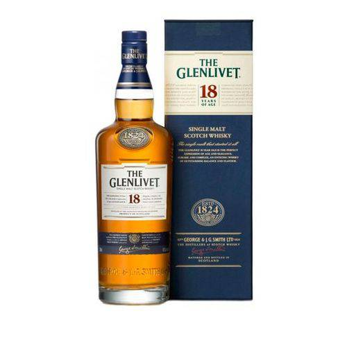 Whisky The Glenlivet 18 Anos 750ml  - DQ Comércio