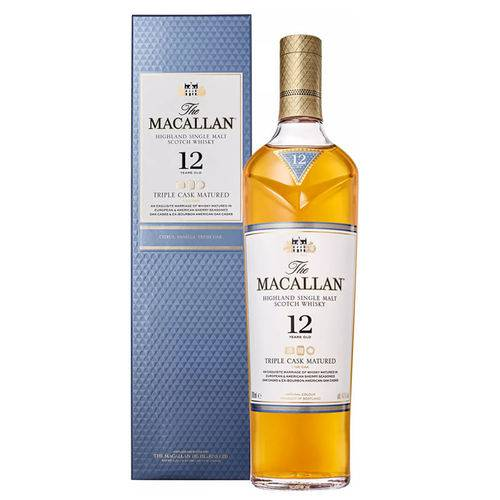 Whisky The Macallan 12 Anos 700 Ml  - Deliciando Quitanda