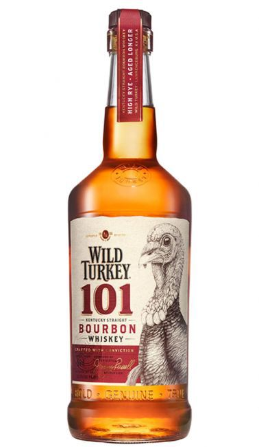 Whisky Wild Turkey 101 700ml  - DQ Comércio