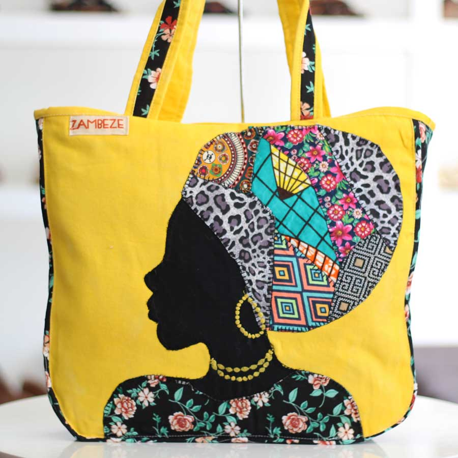 Bolsa Feminina Clube Praia De Tecido Patchwork  Retalho Imagem Africana 11