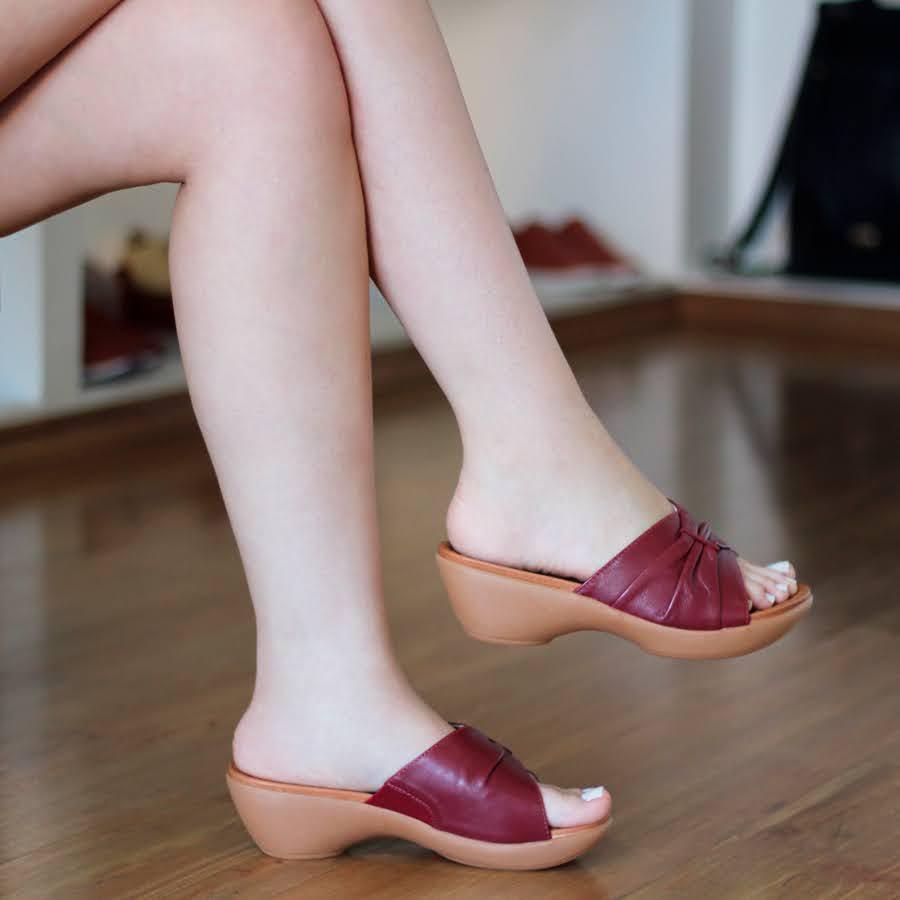 Chinelo Feminino usaflex Confortável  Solado Anabela  AE0906