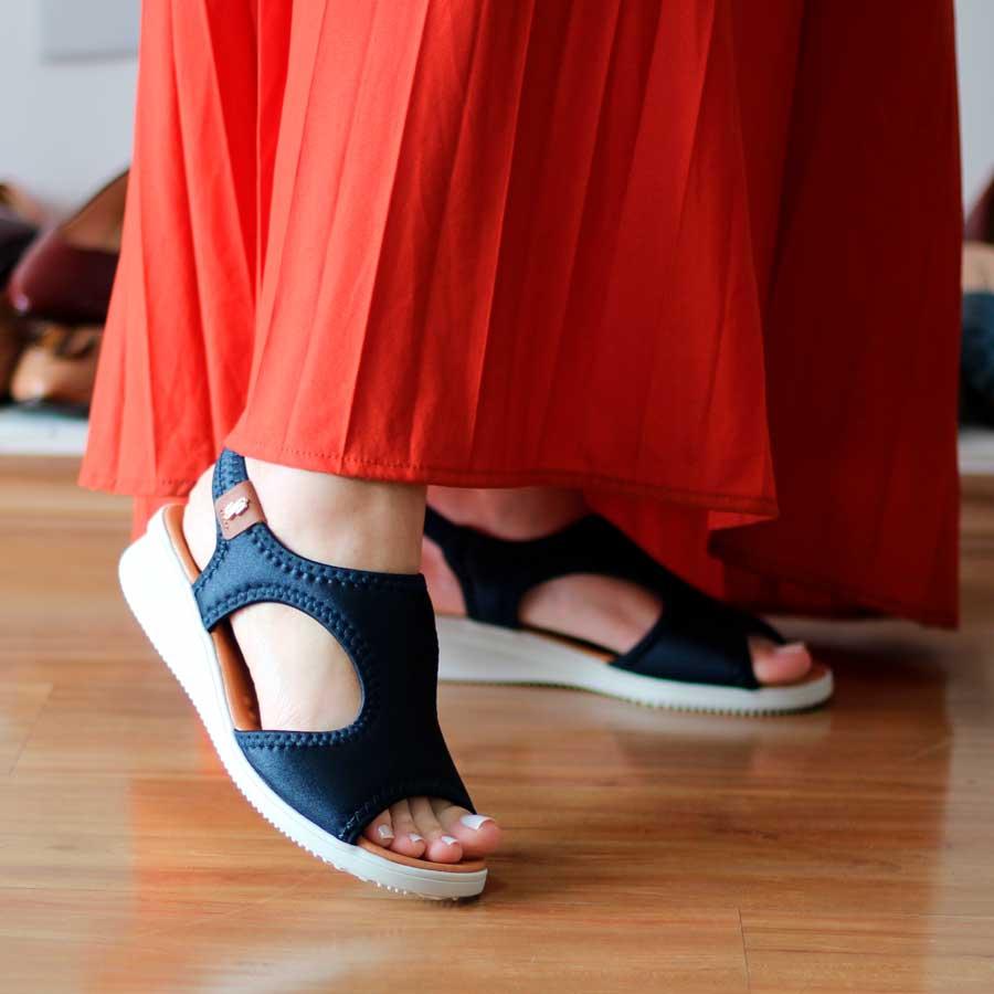 Sandália Usaflex Feminino Confortável Para Joanetes  2014