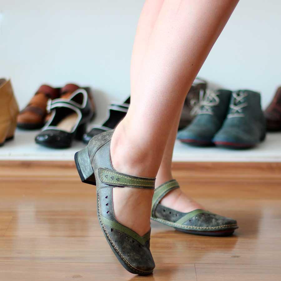 Sapato Boneca Confortável Estilo Retrô Vintage DX0016